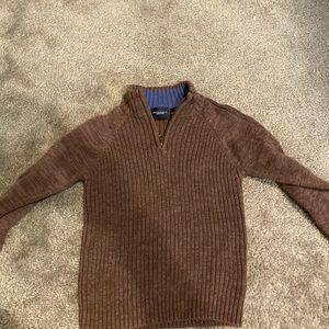 Sonoma boys brown 4t sweater